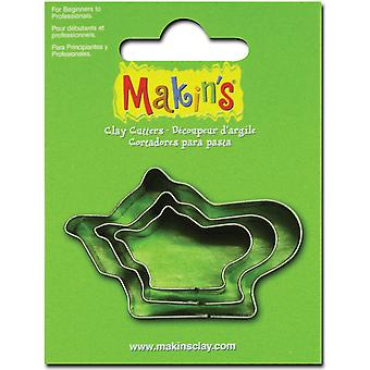 Makin's Clay Cutters 3 Pkg Teapot M360 24