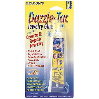 Dazzle Tac Jewelry Glue 1 Ounce Jg1oz