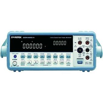 Bench multimeter digital GW Instek GDM-8255A Calibrated to: Manufacturer's standards (no certificate) CAT II 500 V Disp