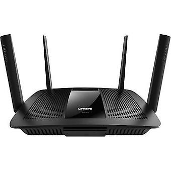 Linksys MAX-STREAM Multi-User MU-MIMO EA8500 WiFi router 5 GHz,