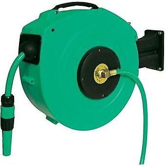 Garden hose reel 13 mm 1/2  20 m Green as - Schwa