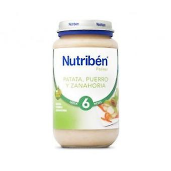 Nutribén Potato, Leek And Carrot 250G (Childhood , Healthy diet , Pots)