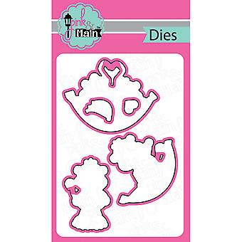 Pink And Main Dies-Go Bananas, 5/Pkg PNM028