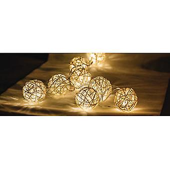 HQ Led Strip Lights With 10 Balls Rattan (Home , Lighting , Decorative)