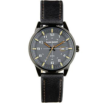 Bruno Banani watch wristwatch ob leather analog BR30010