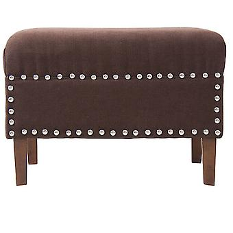 Wellindal Reposapies marron (Home , Living and dining room , Footrest)