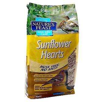Natures Feast Premium Sunflower Hearts 1.75kg