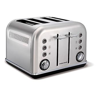 MORPHY RICHARDS Toaster Accent Silver 4 Discs