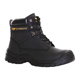 Slimbridge Velbert Size 11 Safety Boots, Black