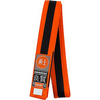 Hayabusa Youth Jiu-Jitsu Belt - Orange/Black