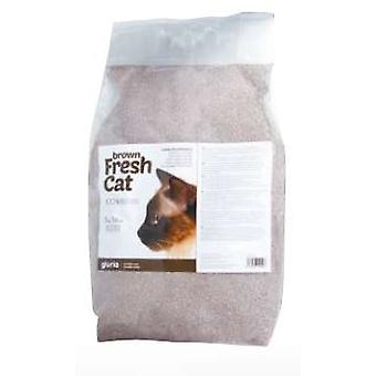 Creaciones Gloria Arena Aglomerante Fresh Cat Brown 5 kilogramos