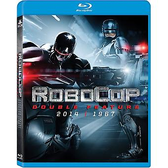 Robocop (1987) / Robocop (2014) Double Feature [BLU-RAY] USA import
