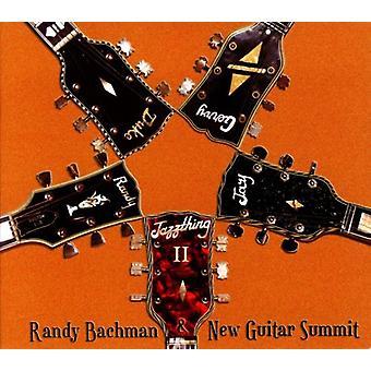 Randy Bachman & New Guitar topmøde - Jazzthing II [CD] USA import