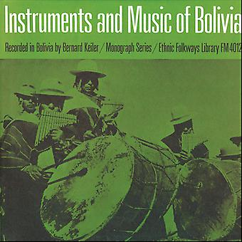 Instruments & Music of Indians of Bolivia - Instruments & Music of Indians of Bolivia [CD] USA import