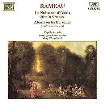 J. Rameau - Rameau: La Naissance D'Osiris; Abaris Ou Les Bor Ades (suiter for orkester) [DVD] USA import