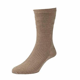 HJ90 Hall Womens Softop Loose No Elastic Wool Rich Socks