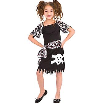 Pirate Costume girl Pirate Costume black 3-5 years size S