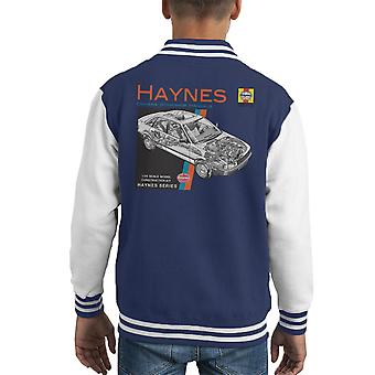 Haynes Owners Workshop Manual 1491 Audi 80 90 Kid's Varsity Jacket
