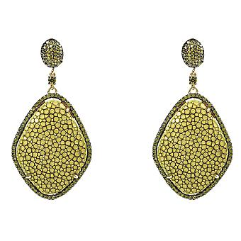 Stingray Diamond Earring Kiwi