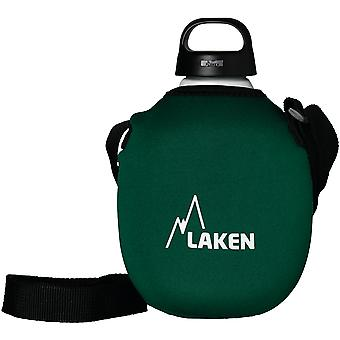Laken Clasica 1 L with neoprene sleeve and shoulder strap (Giardino , Campeggio , Cucina)