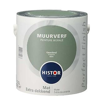 Histor Perfect Finish muurverf mat geordend 6924 2,5 l