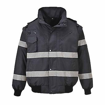 sUw - Iona 3 in 1 Bomber Safety Workwear Jacket