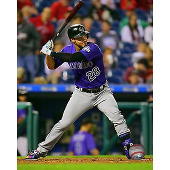 Nolan Arenado 2017 Action Photo Print