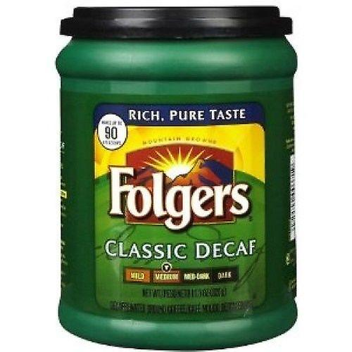 Folgers Classic Decaf Ground Coffee