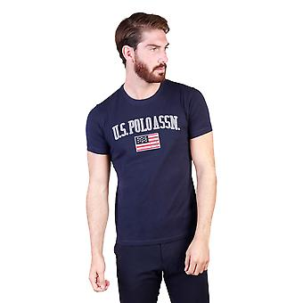 U.S. T-shirts Men Blue