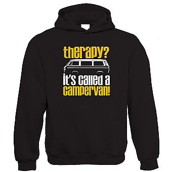 Therapy Campervan, Mens Funny Hoodie  (S to 5XL)