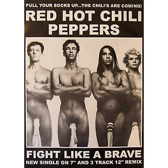 Red Hot Chilli Peppers Socks Poster Poster Print
