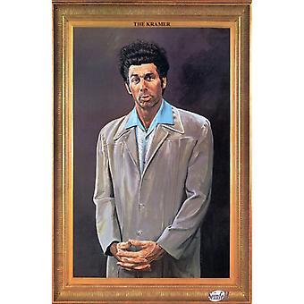 Impresión del cartel de Kramer por Larry Salk (24 x 35)