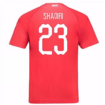 2018-19 Switzerland Home Shirt (Shaqiri 23) - Kids