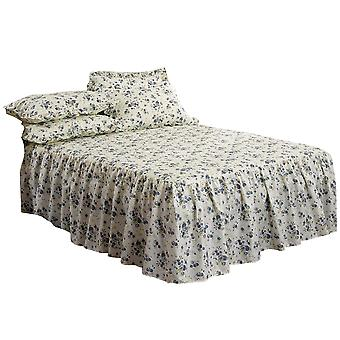 Emma Barclay Luxury Quilted Floral Beverly Bedspread With Pillowshams Bedding Set