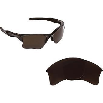 Half Jacket 2.0 Replacement Lenses Polarized Bronze Brown by SEEK fits OAKLEY
