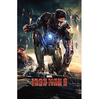 Marvel Iron Man 3 - One Sheet Poster Print