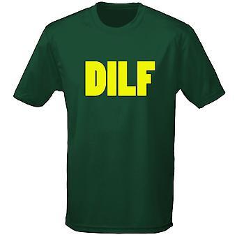 Dilf vader graag F *** onbeleefd Mens T-Shirt 10 kleuren (S-3XL) door swagwear