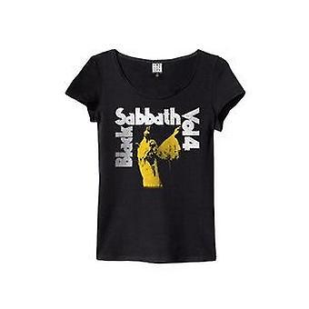 Amplified Black Sabbath Vol 4 Womens T-Shirt