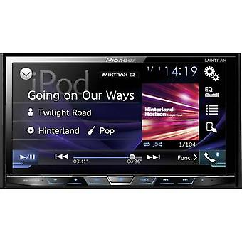 Pioneer AVH-X5800DAB Double DIN monitor receiver DAB+ tuner, Rear view camera connector, Steering wheel RC button connec