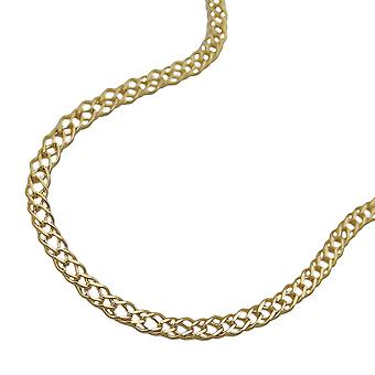 Bracelet 19cm mariner chain 9k gold
