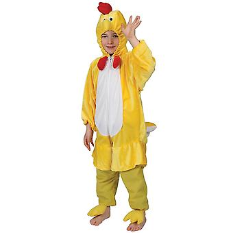 Yellow Chicken Childrens Easter Fancy Dress Costume One Piece