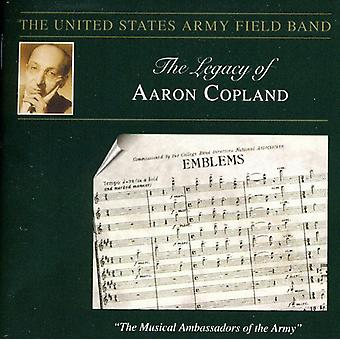 A. Copland - The Legacy af Aaron Copland [CD] USA import