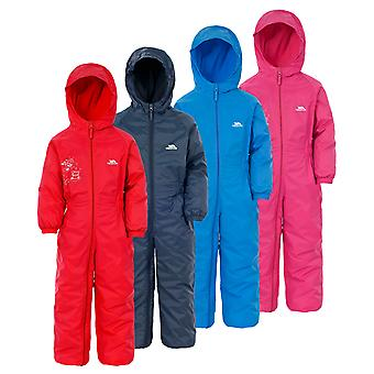Trespass Kids DripDrop All In One Padded Waterproof Rain Suit
