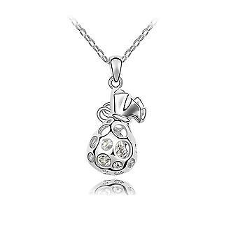 Swarovski Elements white Crystal pendant