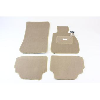 Fully Tailored Car Floor Mats - BMW 3 Series E92 Coupe 2006-2011 Beige