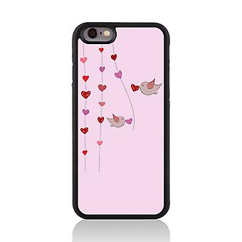Call Candy Apple iPhone 7 Love Birds 2D Printed Case