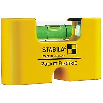 Stabila Pocket Level Electric Pocket Level (With Individual Packaging)