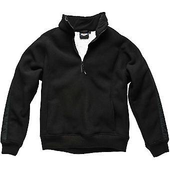 Dickies Mens Workwear Pullover Fleece Black EH89000B
