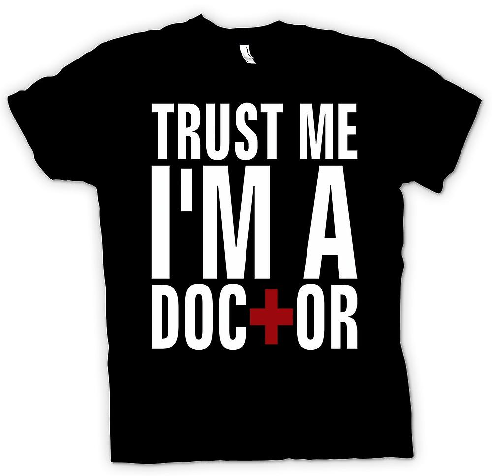 Kids T-shirt - Trust Me I'm A Doctor - Quote