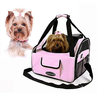 Valentina Valentti Luxury Dog Cat Puppy Pet Car Seat Carrier V4 Pink